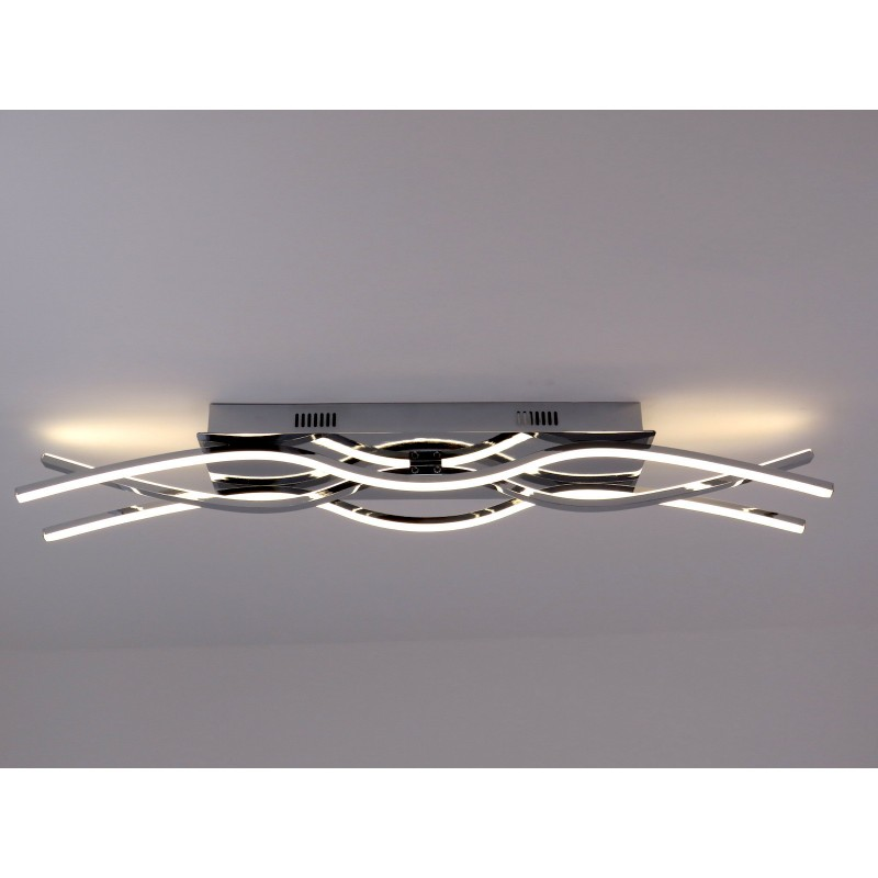 Ofelia plafoniera moderna a led onde luminose luce for Plafoniere moderne