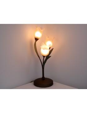 DUCALE 4092 L3 lampada da tavolo scrivania abatjour camera da letto  DIAMANTLUX