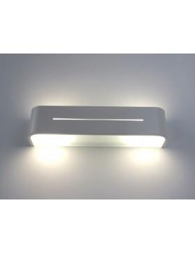 PIA AP2 BIANCO lampada parete applique design moderno camera salone ...