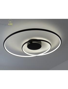 Plafoniera Design Moderno Camera Da Letto.Otello Lampadario Plafoniera Design Moderno Led A Forma Di Cerchio