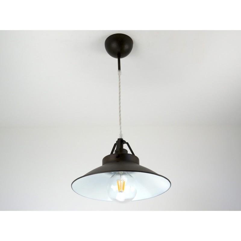 1074 S30M Sospensione lampadario classico rustico country cucina taverna  camera bagno